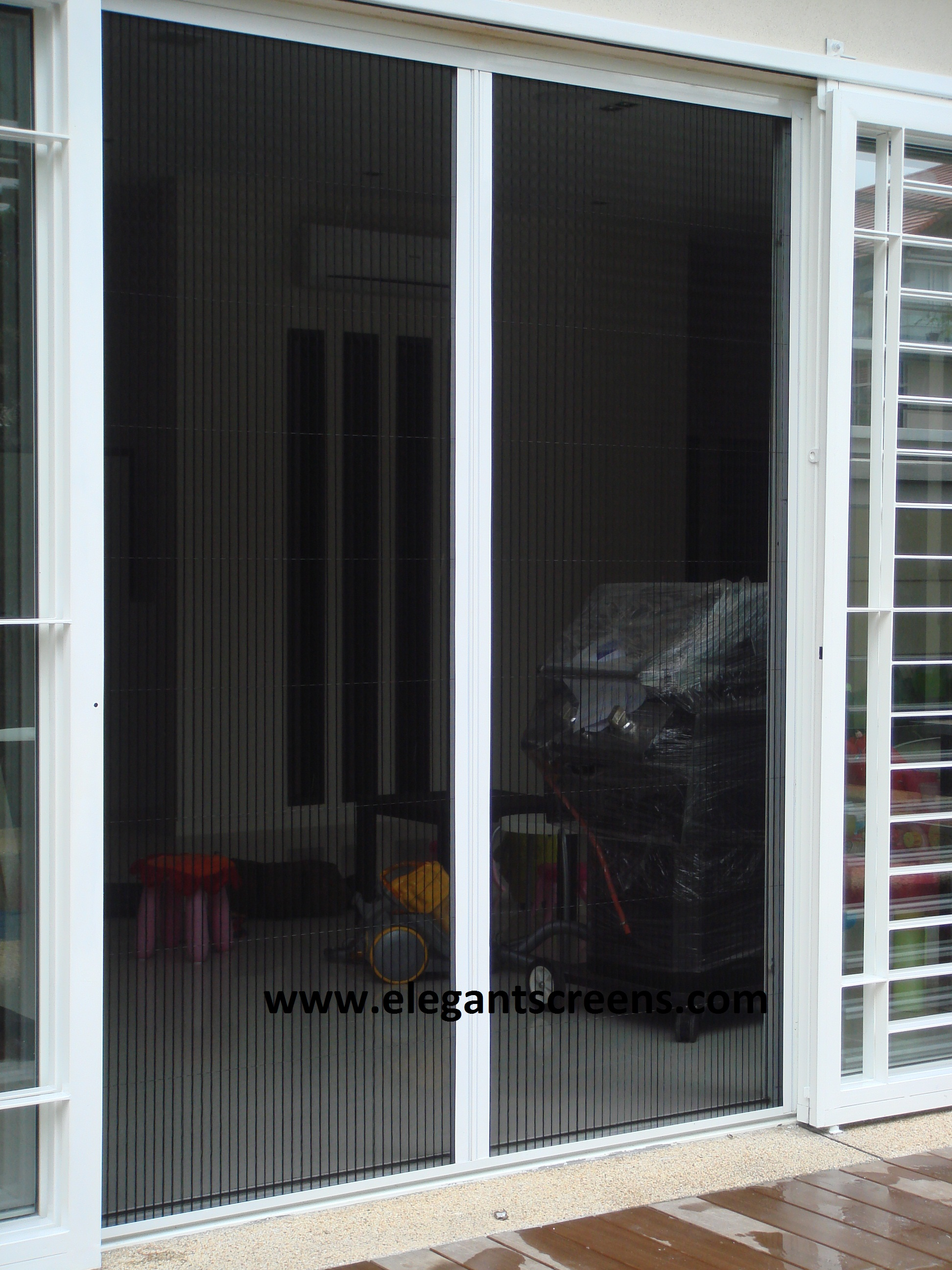 Double Way Fold Screen Door ...