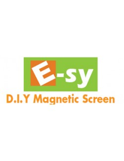 EsyDIY 4' X 4' Magnetic Insect Screen