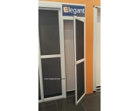 Elegant Hinged Screen Door