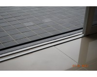 Low profile Sliding Door track