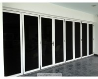 Bi-Fold Security Door