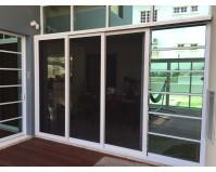 3 Panels Security Door