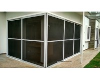 L Shape Sliding Security Screen