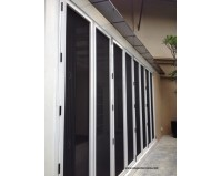 Supreme Bi-Fold Security Door