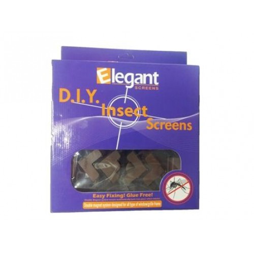 D.I.Y Magnetic insect screen